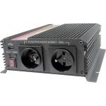 Měnič napětí Carspa CAR1KU-12 12V/230V+USB 1000W, modifikovaná sinus, CAR1KU-122