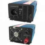 Měnič napětí Carspa P1000-12, 12V/230V1000W čistá sinusovka, P1000-122