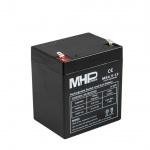 Carspa Pb akumulátor MHPower VRLA AGM 12V/4,5Ah (MS4.5-12, MS4.5-12