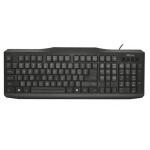 klávesnice TRUST ClassicLine Keyboard CZ/SK NEW, 20638