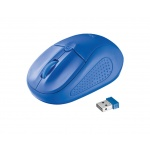 myš TRUST Primo Wireless Mouse - blue, 20786