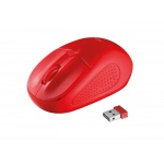 myš TRUST Primo Wireless Mouse - red, 20787