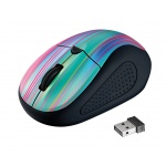 myš TRUST Primo Wireless Mouse - black rainbow, 21479