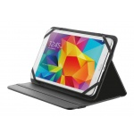 "TRUST Primo Folio Case with Stand for 7-8"" tablets - black, 20057"