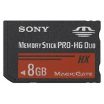 SONY Memory Stick Pro DUO HighGrade MSHX8B, 50MB/s, MSHX8B
