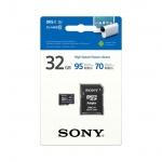 SONY microSD karta 32GB, class10, 95MB/s, adapter, SR32UXA