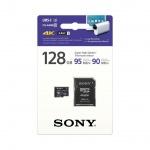 SONY microSD SRG1UZ 128GB, class10,95MB/s, adapter, SRG1UZ