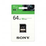 SONY SD karta SF64U, 64GB, class 10, až 90MB/s, SF64U