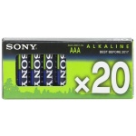 SONY Alkalické baterie AM4M20X, 20ks LR2/AAA, Stamina Plus, AM4-M20X
