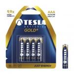 TESLA - baterie AAA GOLD+, 4ks, LR03, 1099137001