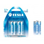 TESLA - baterie C BLUE+, 2ks, R14, 1099137020
