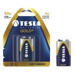 TESLA - baterie 9V GOLD+, 1ks, 6LR61, 1099137028