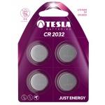 TESLA - baterie TESLA CR2032, 4ks, CR2032, 1099137111