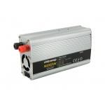 Whitenergy WE Měnič napětí DC/AC 12V / 230V, 500W, 2 zásuvky, 06583