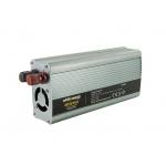 Whitenergy WE Měnič napětí DC/AC 12V / 230V, 800W, USB, 06585