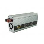 Whitenergy WE Měnič napětí DC/AC 24V / 230V, 800W, USB, 06586