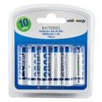 Whitenergy WE Nabíjecí baterie AA 2800mAh Ni-MH 10ks -blister, 06779-BL