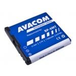 Baterie AVACOM GSNO-BP6MT-S1100A do mobilu Nokia E51, N81, N81 8GB, N82, Li-Ion 3,6V 1100mAh, GSNO-BP6MT-S1100A