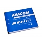 Baterie AVACOM GSSE-W900-S950A do mobilu Sony Ericsson K550i, K800, W900i Li-Ion 3,7V 950mAh (náhrad, GSSE-W900-S950A