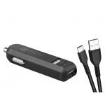 AVACOM CarMAX 2 nabíječka do auta 2x Qualcomm Quick Charge 2.0, černá barva (USB-C kabel), NACL-QC2XC-KK - neoriginální