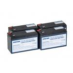 Bateriový kit AVACOM AVA-RBC132 (4ks baterií), AVA-RBC132-KIT