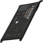 2-POWER Baterie 11,4V 3680mAh pro Dell Chromebook 11 3180, Chromebook 11 3189, Chromebook 5190, 77053295 - neoriginální