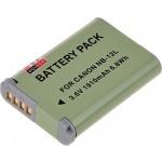 Baterie T6 power Canon NB-12L, 1800mAh, 6,7Wh, DCCA0023 - neoriginální
