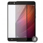 Screenshield™ XIAOMI Redmi Note 4 Tempered Glass protection (full COVER black), XIA-TG25DBREDNO4-D