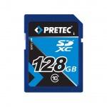 Pretec SDXC 128GB class 10 memory card, PCSDXC128GB
