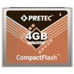 Industrial Pretec CF Card 4GB - Lynx Solution, CFY04G-HR