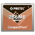 Industrial Pretec CF Card 256MB - Lynx Solution, CFY256-HR