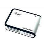 i-tec USB 2.0 univerzální čtečka (bílo/černá), USBALL3-W
