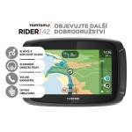 TomTom Rider 42 CE19 pro motocykly, LIFETIME mapy + dárek Fotbalové křeslo ZDARMA, 1GE0.029.20