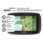 TomTom Rider 450 World pro motocykly Premium pack, LIFETIME mapy, 1GE0.002.21