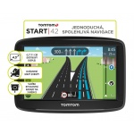 TomTom START 42 Europe, LIFETIME mapy, 1AA4.002.03