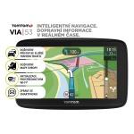TomTom VIA 53 Europe, Wi-Fi, LIFETIME mapy, 1AL5.002.00
