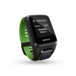 TomTom Runner 3 Cardio + Music + Bluetooth sluchátka (L), černá/zelená, 1RKM.001.10