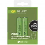 Nabíjecí baterie GP RECYKO AA (2100mAh)- 2ks, 1032212070