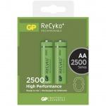 Nabíjecí baterie GP RECYKO AA (2500mAh)- 2ks, 1032212110