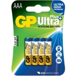 Gp Baterie GP Ultra Plus 4x AAA, 1017114000