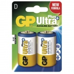 Gp Baterie GP Ultra Plus 2x D, 1017412000