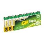 Gp Baterie GP Super Alkaline 10ks AAA, 1013100102