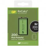 Nabíjecí baterie GP 6F22/ 9V (200mAh)- 1ks, 1033511030