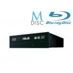 ASUS BC-12D2HT BLACK interní BD COMBO + soft + verbatim M-disk, 90DD01K0-B20000/ 90DD0230-xx10