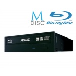 ASUS BW-16D1HT BLACK interní BD-RW bulk + verbatim M-disk, 90DD01E0/90DD0200-B30000