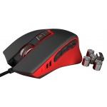 Natec Herní laserová MMO myš Genesis GX85, 8200 DPI, NMG-0711