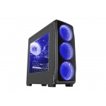 Natec Počítačová skříň Genesis Titan 750 BLUE MIDI (USB 3.0), NPC-1126