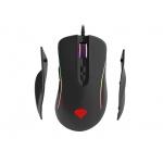 Natec Herní optická myš Genesis Xenon 750, RGB podsvícení, software, 10200DPI, výměnné boční rukojeti, NMG-1162