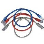 GEMBIRD Eth Patch kabel c5e UTP 5m - červený, PP12-5M/R