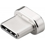 PremiumCord Magnetický USB-C výměnný konektor pro magnetické kabely, ku2m1fg-2